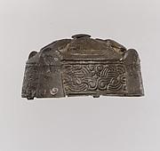 Round Box Brooch