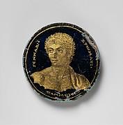 Medallion with a Portrait of Gennadios