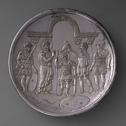 Plate with the Arming of David