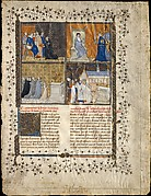 Leaf from a Manuscript of Valerius Maximus