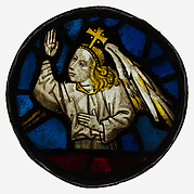 Roundel with an Angel