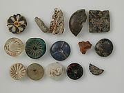 Mosaic Glass Fragments