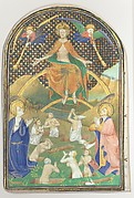 Manuscript Leaf with the Last Judgment, from a Book of Hours
