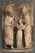 Virgin, Saint Anne & Saint Joachim