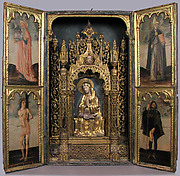 Altar Shrine with Four Saints