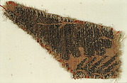 Textile with Foliated Design