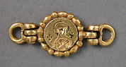 Clasp with Intaglio Medallion of the Virgin and Child