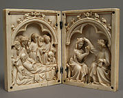 Diptych with the Death and Coronation of the Virgin
