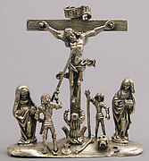 Pendant with the Crucifixion and Attendant Figures
