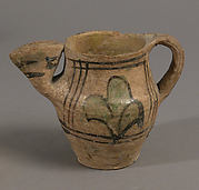 Jug with Flattened Spout