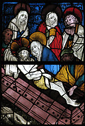 Stained Glass Panel with the Entombment