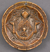 Disk from a Panagiarion with the Virgin and Child
