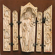 Polyptych, Virgin in Tabernacle