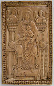Plaque with Enthroned Virgin and Child
