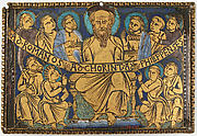 Plaque with Saint Paul and His Disciples