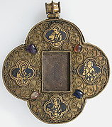 Quatrefoil Mount for a Medieval Ivory of the Crucifixion