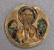 Medallion with an Archangel