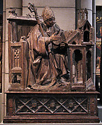 Saint Ambrose in His Study