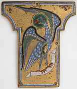 Plaque from a Cross with the Eagle of Saint John