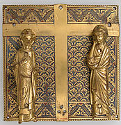 Plaque with the Virgin and Saint John