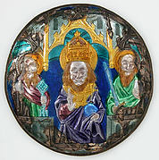 Plaque with God The Father
