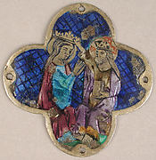 Plaque with the Heavenly Coronation of the Virgin