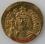 Solidus of Phocas ( r. 602–10)