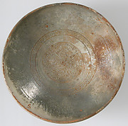 Bowl with Ornamented Rosette