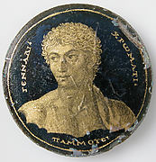 Medallion with a Portrait of Gennadios