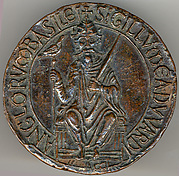 Seal with Seated Figure of Edward The Confessor (d. 1066)
