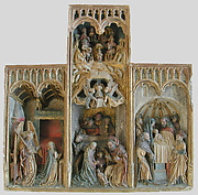 Altarpiece with Scenes of the Infancy of Christ