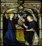 Panel with The Annunciation