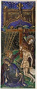 Triptych Panel with the Lamentation
