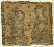 Textile with The Annunciation