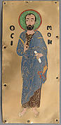 Plaque with Saint Simon