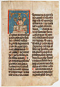 Manuscript Leaf from a Missal