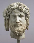 Head of Christ or Zeus