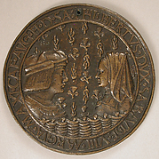 Medal of Duke Philibert II of Savoy (1480–1504) and Margaret of Austria (1480–1530)