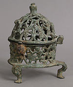 Censer Frame with Inhabited Vine Scroll
