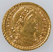 Gold Solidus of Emperor Valentinian I (r. 364–75)