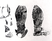Fragments of a Pair of Sandals