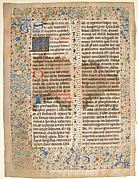 Manuscript Leaf, from a Missal
