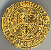 Quarter Noble of Edward III (r. 1327–77)