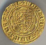 Quarter Noble of Edward III (r. 1327–77)