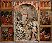 Adoration of the Magi Triptych Panel