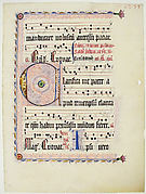 Leaf from an Antiphonary with the Initial C