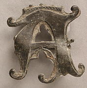 Badge with Crowned Letter A