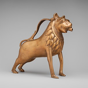 Aquamanile, Lion