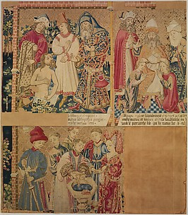 Seven Scenes from the Story of the Seven Sacraments, Jacob Blessing Ephraim and Manasseh