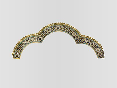 Tri-Lobed Arch from a Reliquary Shrine